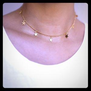 Jewelry - Gold Star Shower Choker 🌟 ⭐️
